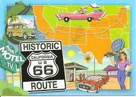 Route 66 Illinois Map by Love This Route 66 Diner Placemat And Route Map Vintage Road