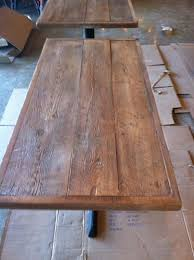 making a wood table top restaurant tables and chairs hercules black ladder back metal