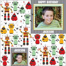 personalized wrapping paper robo personalized wrapping paper pricing options