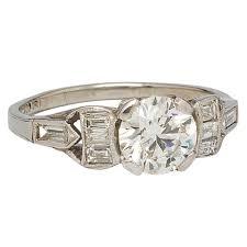 antique diamond engagement rings vintage diamond engagement ring platinum 1 03 carat e vs2 circa