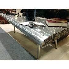 sheet metal coffee table sheet metal coffee table coffee table legs metal migoals co
