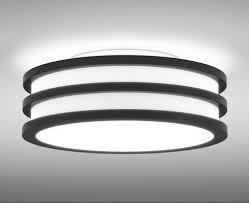 Round Fluorescent Light Fixture Manning Lighting Column 4bar Ceiling Cc 226