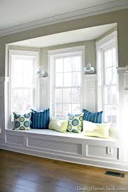 Making A Bay Window Seat - form and function kitchen window seats homemade pillows and