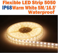 Ribbon Lights Outdoor by Warm White Led Strip 12volt Tape Light Bright Outdoor Strip Lights