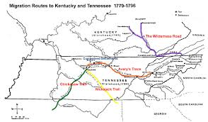 Tennessee Kentucky Map by Thumbsplus Image Directory