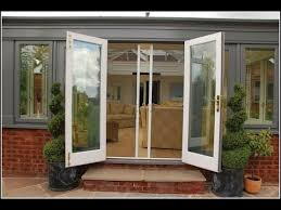 Bifold Patio Door by Folding Patio Doors With Screens Youtube