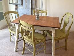 Second Hand Kitchen Furniture by Kitchen Table With Chairs Goplus 5 Piece Dining Table Set With 4