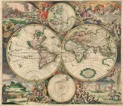 What Is A World Map by Old World Map 1689 World Map U2022 Mappery