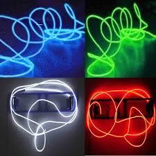 41 best things that glow el wire neon u0026 more costume decor