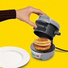 Breakfast Sandwich Toaster Breakfast Sandwich Maker Cooks Your Meal In Five Minutes