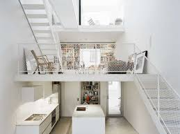 interior stunning architectural of a modern concrete house
