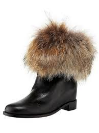 christian louboutin shop online billig flat fur cuff boot shoes