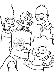 cartoon coloring pages family coloring pages for kids printable free