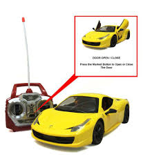toy ferrari 458 jack royal ferrari 458 one press open and close door car with real