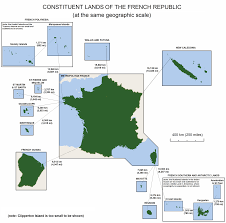 Map Of Caribbean Islands And South America by List Of Islands Of France Wikipedia