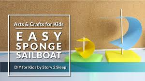 inspire your kids creativity with fun arts and crafts easy sponge
