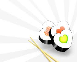 free sushi love backgrounds for powerpoint miscellaneous ppt