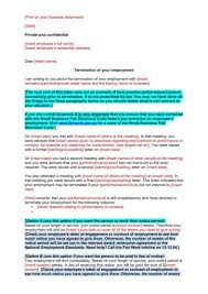 Sample Contract Termination Notice by Tips For Writing Formal Termination Letters 9 Free Samples