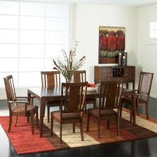 9 pc dining room set standard furniture cape point 9 piece dining room set with arm chairs
