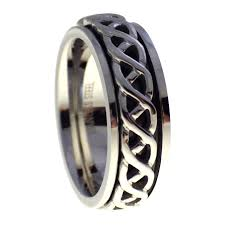 worry ring celtic spinner ring mens womens worry ring a stress reliever ring