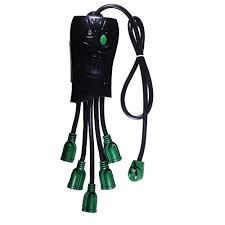 power by go green 5 outlet octopus surge protector gg 5oct the