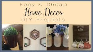 home decor diy projects dollar tree u0026 cheap rustic farmhouse