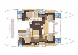 Prevost Floor Plans by Lagoon 560 Yacht Charter Croatia Catamaran Sailboat