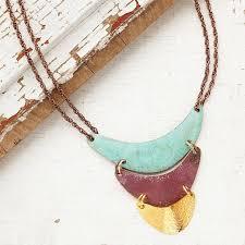 handmade statement necklace images Cerro statement necklace copper jewelry handmade uncommongoods jpg
