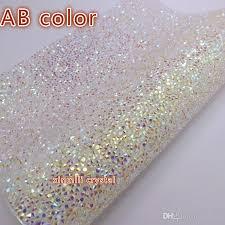 Best Sheet Fabric Free Ship Crystal Resin Rhinestone Self Adhesive Sheet Or Hotfix