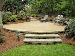 Raised Paver Patio Hardscapes Portfolio Keeler Landscape