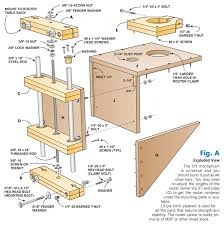 Fine Woodworking Magazine Router Reviews by Aw Extra 8 9 12 Shop Made Router Lift Router Lift Router
