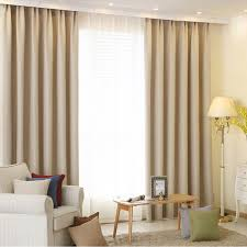 Insulated Window Curtains Solid Color Blackout Curtains Modern Bedroom Decorations Drapes