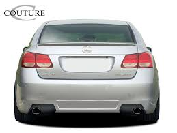 lexus rear bumper lexus gs rear bumpers body kit super store ground effects