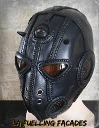 leather mask beauty within the beast leather mask by lafuellingfacades on