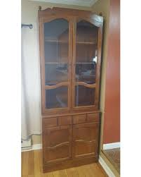 ethan allen china cabinet deals on vintage ethan allen china cabinet bookcase buffet solid