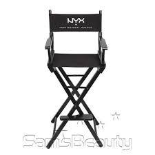professional makeup artist chair nyx makeup artist director s chair samsbeauty