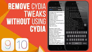 how to remove cydia tweak without using cydia for ios 10 2 9 3 3