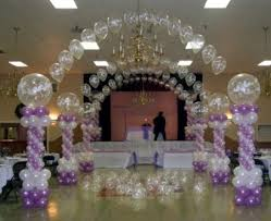 funny wedding decoration with balloons cherry marry