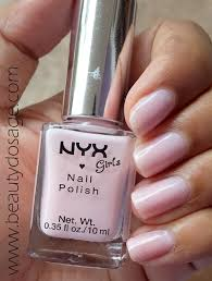 notd nyx girls nail polish in shade u0027bella u0027 beauty dosage