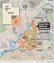 Standing Rock Reservation Map Trump Native American Tensions On Display At Bears Ear In Utah