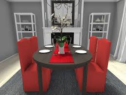 Red Dining Room Chair Christmas Decorating Ideas Roomsketcher Blog