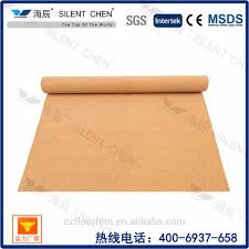 Soundproof Underlay For Laminate Flooring Acoustic Soundproof Cork Cushioning Underlayment For Flooring Wall