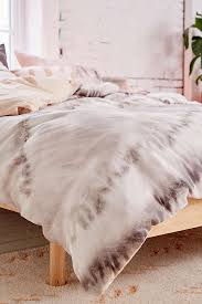 neutral tie dye reversible duvet cover urban outfitters