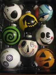 christmas ornaments nightmare before christmas ornaments