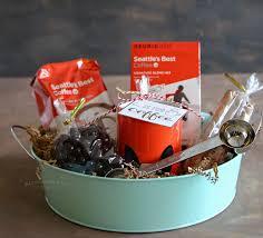 coffee gift basket coffee gift basket idea kleinworth co