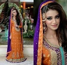 purple and orange wedding dress purple wedding dresses 2017 lengha bridal embroidery