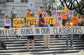 new law allowing concealed guns on campus roils university of