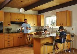Midcentury Modern Kitchens - seattle midcentury modern house was home for the movie u0027laggies
