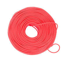 neon cloth covered wire sold by the foot color cord company