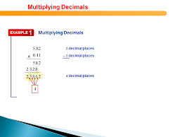 multiplying decimals multiplying decimals presentation mathematics sliderbase